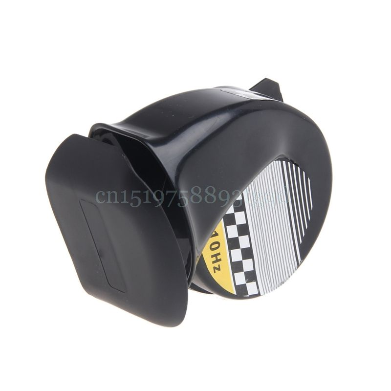 Universal Waterproof Loud Snail Air Horn Siren 130dB For 12V Truck Motorcycle#T518#