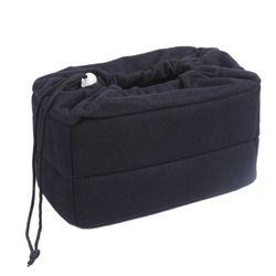 CES-NEW Shockproof DSLR SLR Camera Bag Partition Padded Camera Insert, Make Your Own Camera Bag Black