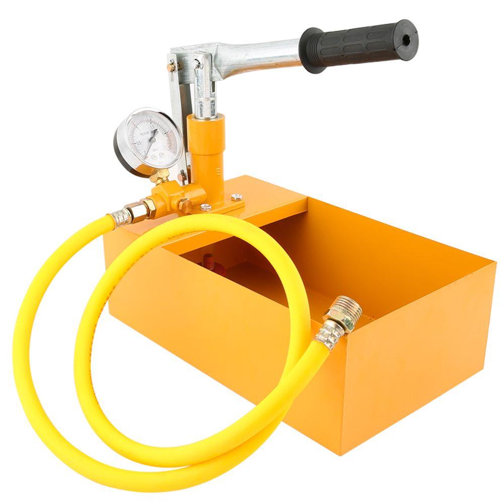 PPR Aluminum 2.5MPa Pressure Test Pump 25KG Water Pressure Tester Manual Hydraulic Test Pump Machine with G1/2