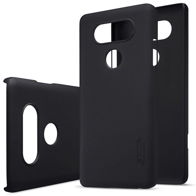 Étui pour lg v20 téléphone sacs NILLKIN Givré En Plastique PC couverture arrière avec Protecteur D'écran Pour lg v20 (5.7 pouces) paquet de vente au détail
