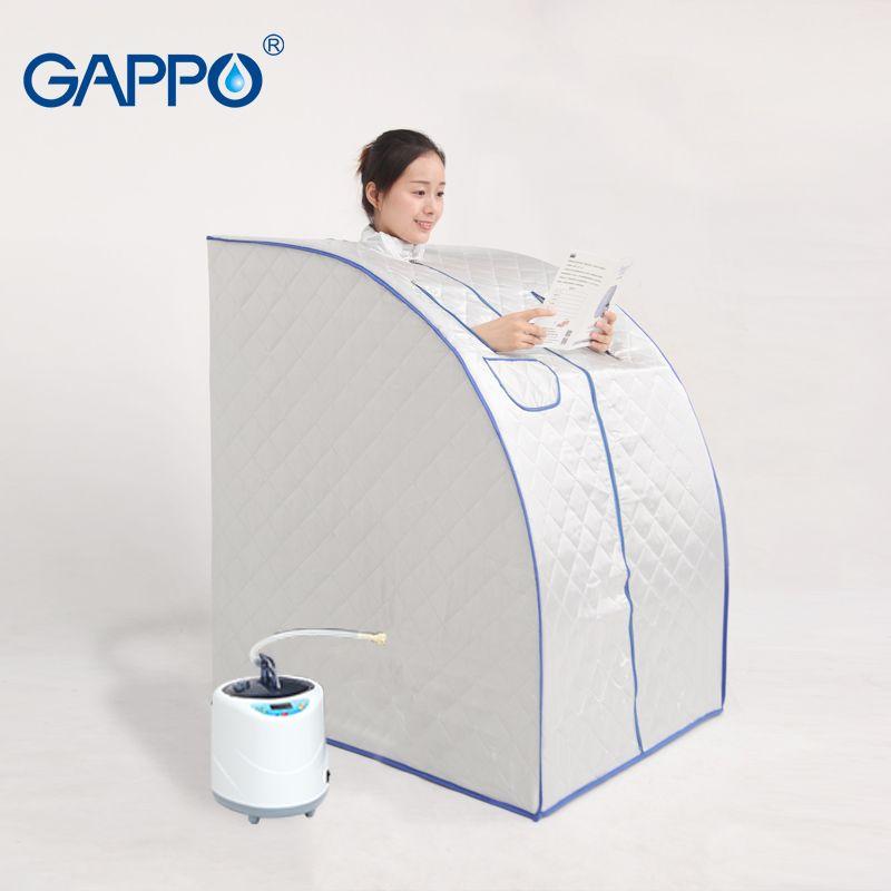 GAPPO Steam Sauna portable sauna room Beneficial skin infrared sauna Home Sauna Rooms bath SPA with bag indoor box spa