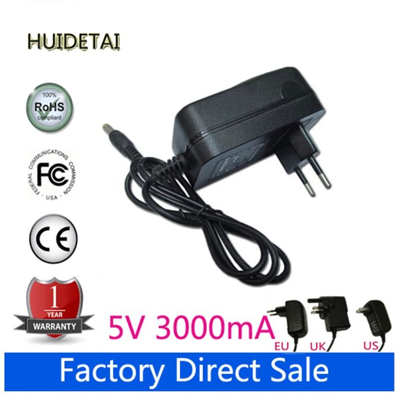5V 3A Universal AC DC Power Supply Adapter Charger For Jumper EZpad 5SE tablet PC 10.6''