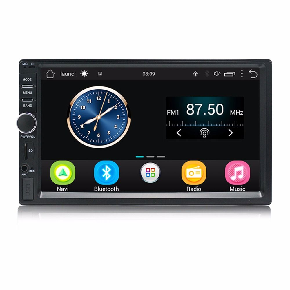 Auto Radio 2 Din Android GPS Navigation Car Radio Car Stereo 7