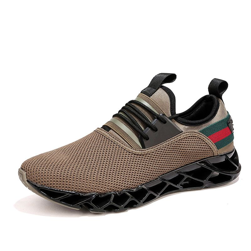 New Men Sneakers Cushioning Blade Running Shoes for Men Sneakers Breathable Sport Shoes Traveling Walking Shoes 35
