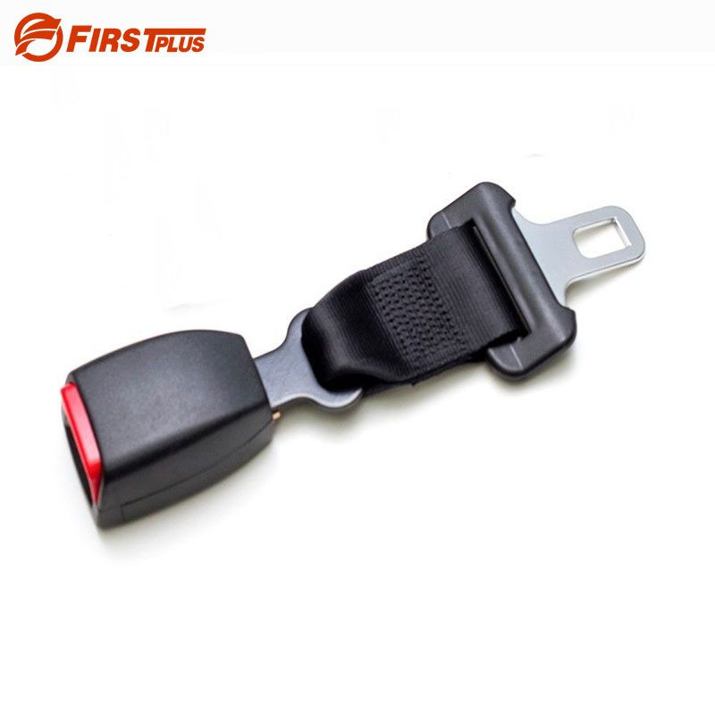 E24 Safe Certification Car Seat Belt Extender Automotive Seatbelts Extension Safety Belts Clip Extenders For Cars - Black Grey