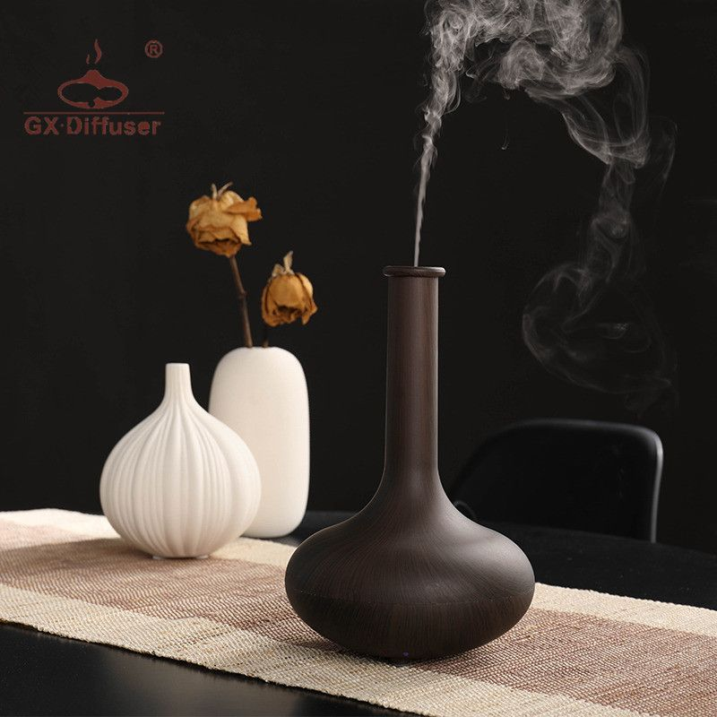 GX.Diffuser Hot Sale Aroma Diffuser Ultrasonic Humidifier Mist Maker Air Humidifier Aromatherapy Essential Oil Diffuser Home