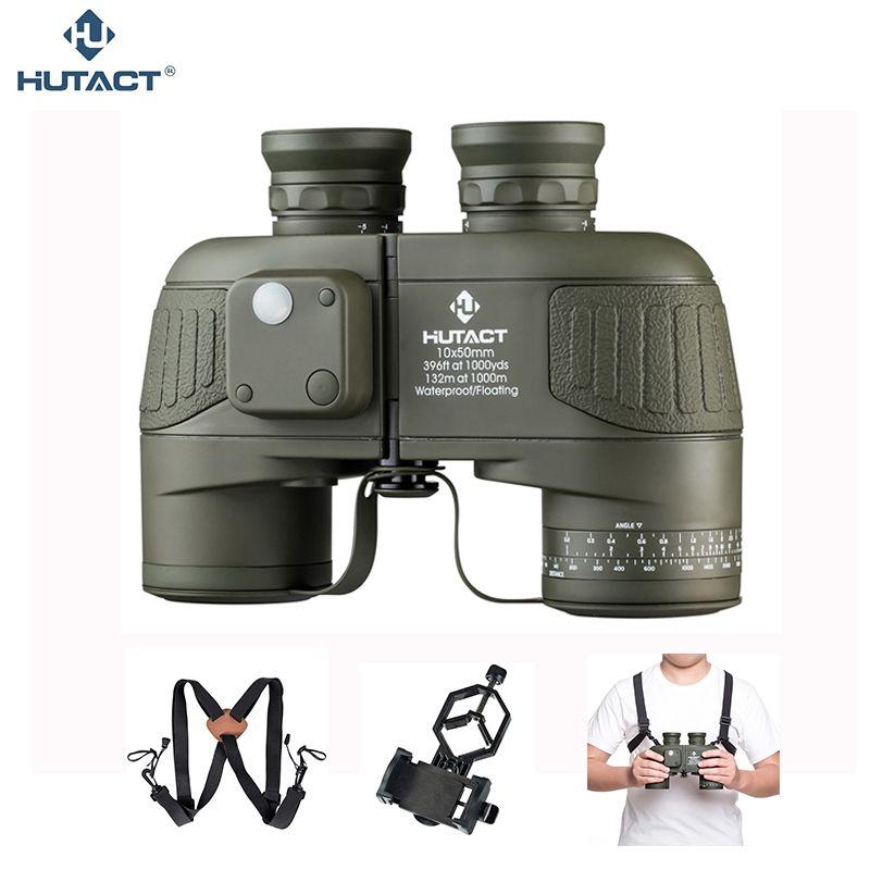 HUTACT 10x50 Fernglas Für Jagd Teleskop Wasserdichte Handheld Fernglas Outdoor Marine BAK4 Stickstoff Gefüllt Porro Optische