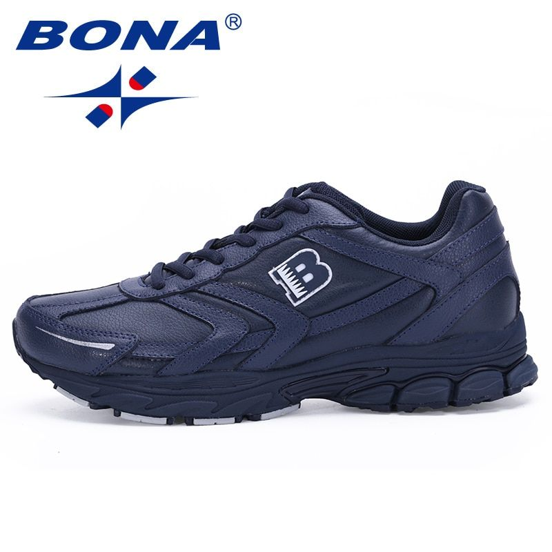 FOI Nouvelle Arrivée Classiques Style Hommes Chaussures de Course à Lacets Sport Chaussures Hommes de Jogging En Plein Air de Marche Athlétique Chaussures Mâle Pour au détail