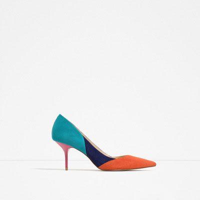 Neue Mode Frauen Pumpt Allmählich Ändernden Farbe High Heels Schuhe Frau Sexy Spitz Dünne Ferse Lackleder Pumps