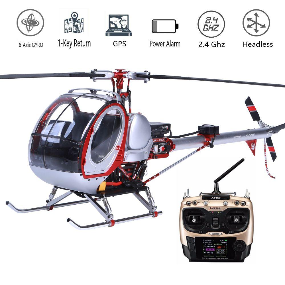 JCZK 300c Skala Smart Drone 6CH RC Hubschrauber 450L Heli 6CH 3d-6-achsen-gyro Flybarless GPS Hubschrauber RTF 2,4 GHZ Drone spielzeug