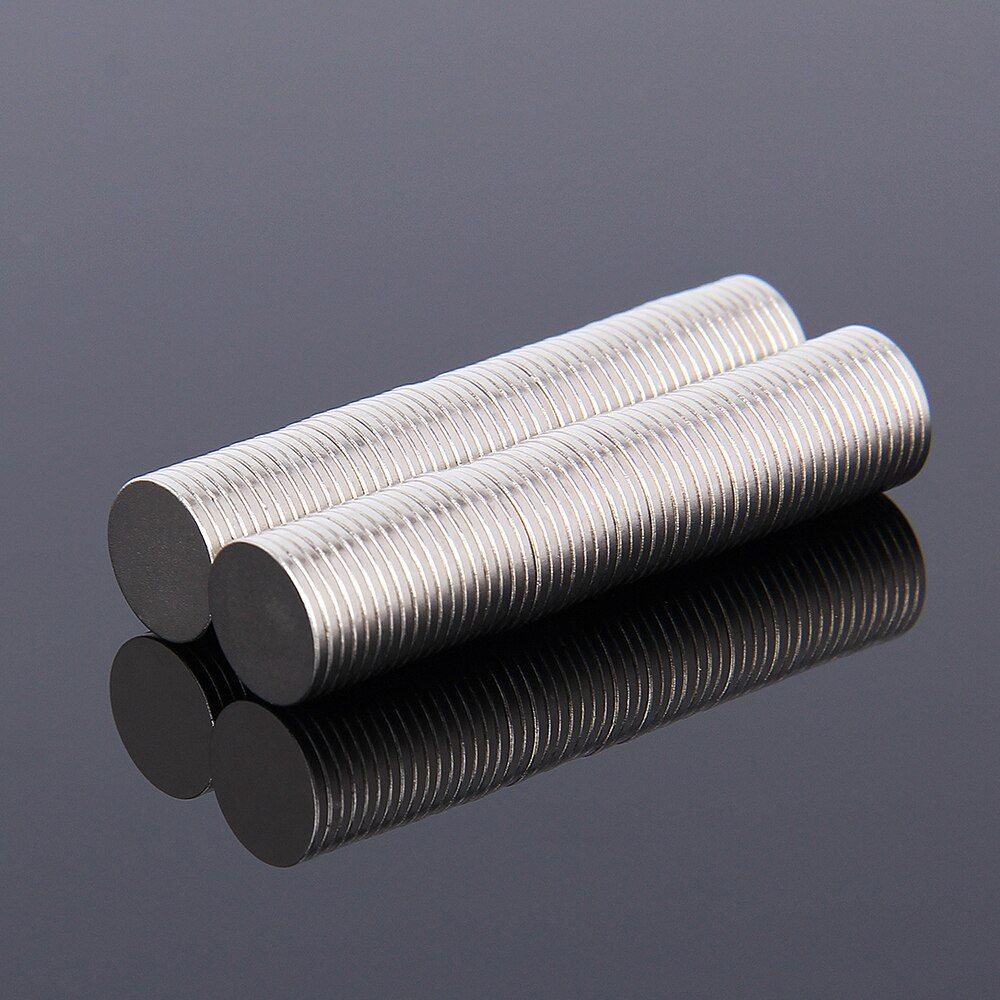 Hakkin 100pcs 10*1 Mini N35 10mm x 1mm Powerful Super Strong Round Magnets Rare Earth Permanet Neodymium 10*1mm 10mm*1mm