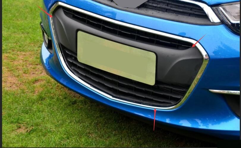 FITS For Chevy Aveo Sonic 2014-2016 1PCS Original version Front Grill Grille Lower