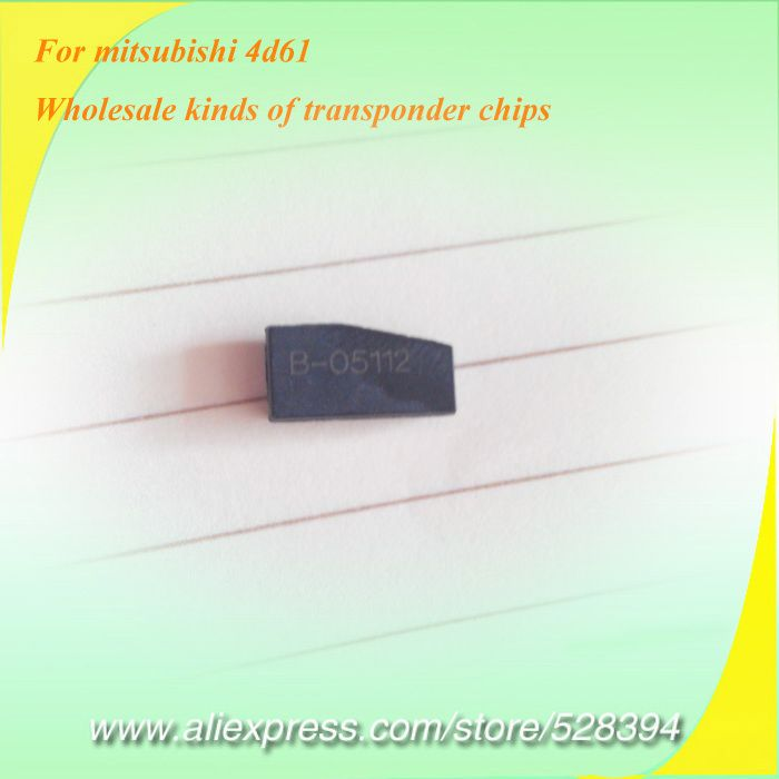 ID4D61 Chip for Mitsubishi Transponder Ceramic Carbon T19 Locksmith Tools 30pcs Shipping Method Optional