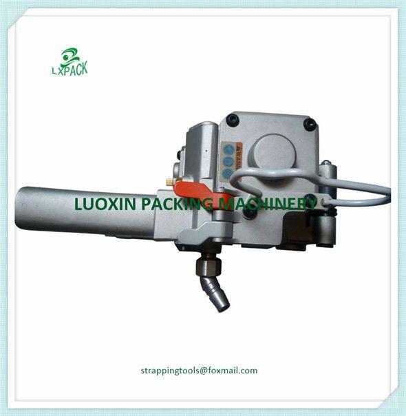 XQD-19 Pneumatische PET KUNSTSTOFF Umreifungsgerät PET Reibung Weld Umreifung Kantenanleimmaschine für 13-19mm Polyester oder Polypropylen Strap