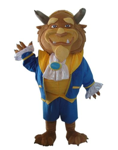2018 Adult the beauty and the beast costume the beast mascot costume for sale and free shipping cost