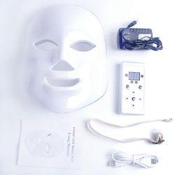 7 Couleurs Beauté Thérapie Photon LED Masque Facial Soins De La Peau Lumineuse Rajeunissement Rides Acné Retrait Visage Beauté Spa Instrument 30