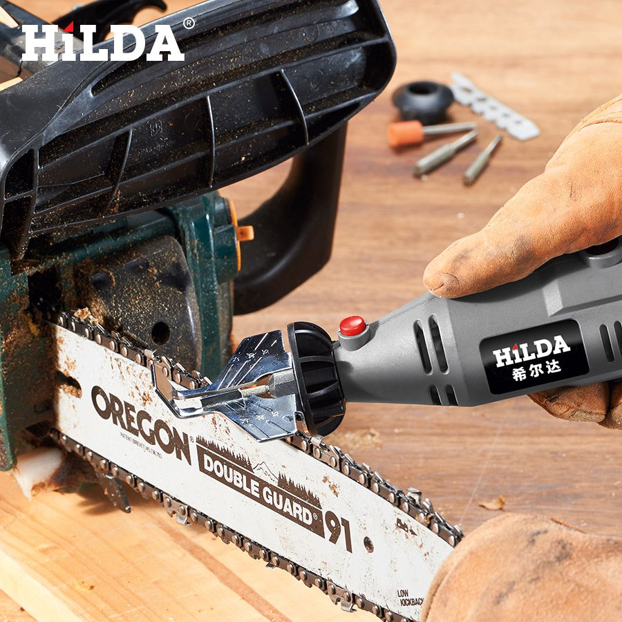 HILDA scie affûtage accessoire aiguiseur Guide perceuse adaptateur pour Dremel perceuse rotatif accessoires