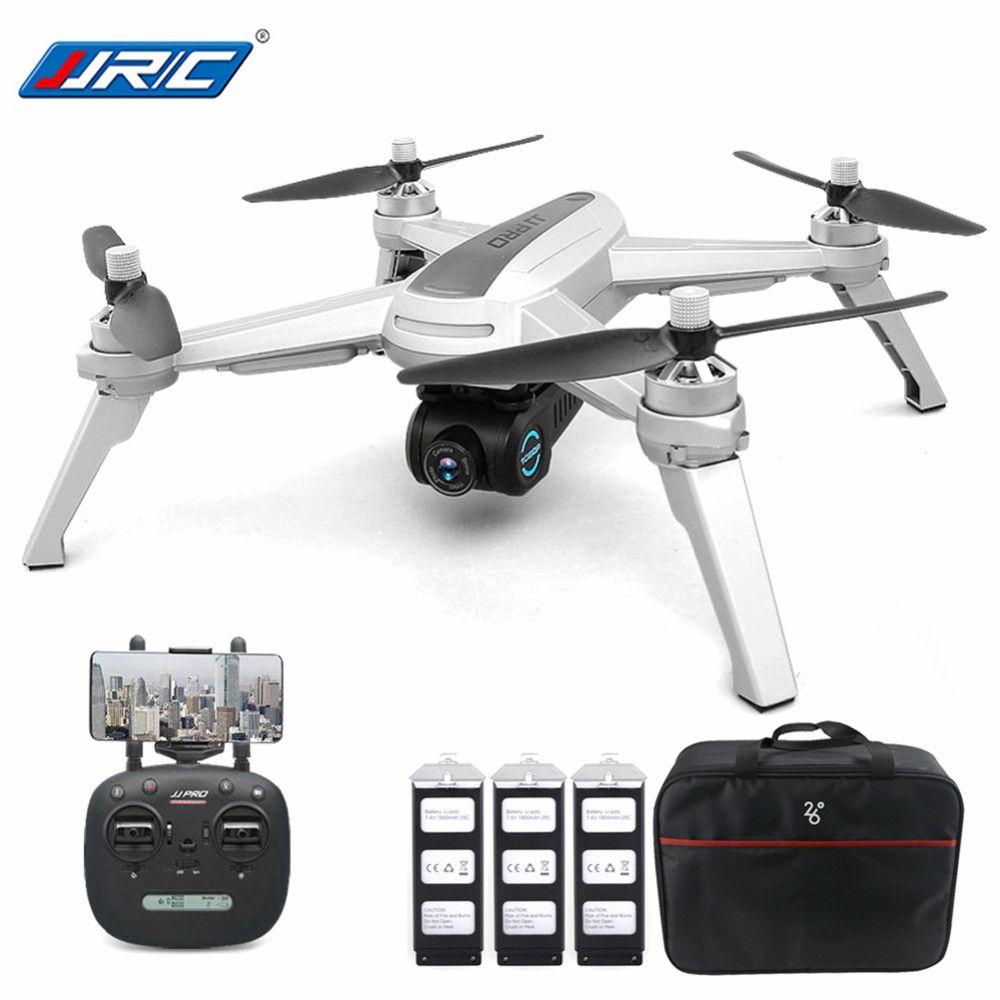 Neue JJRC JJPRO X5 5G WiFi FPV Professionelle RC Drone Bürstenlosen GPS Positionierung Höhe Halten 1080 P Kamera Mit 3 batterien 1 Tasche