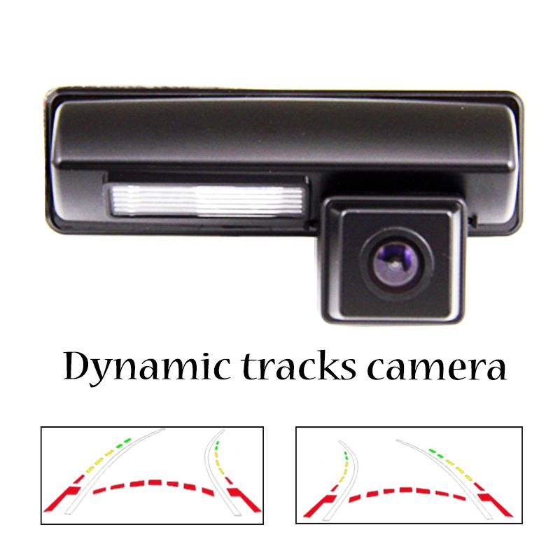 HD Caméra de vue Arrière de Voiture pour Toyota 2007 2008 2009 2010 2011 2012 classique L'UE camry Busard Ipsum Avensis ligne dynamique caméra arrière