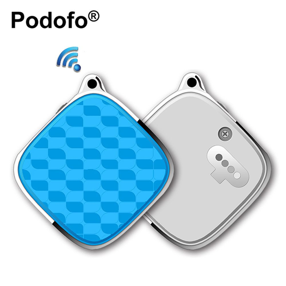 Podofo Mini Vehicle GSM GPRS Tracker SOS Alarm Personal GPS Tracker Realtime Locator for Olds Kids Children Pets Outdoor Travel