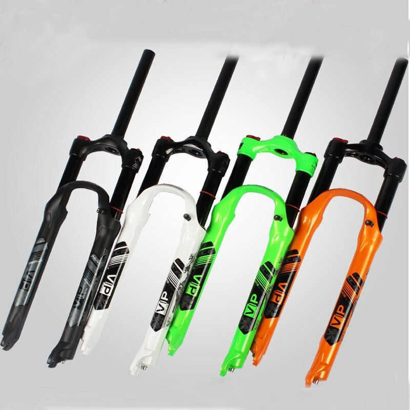 2017 Bicycle fork MTB mountain bike fork 26 27.5 High quality bicycle air suspension fork mtb gas fork Black, white, green