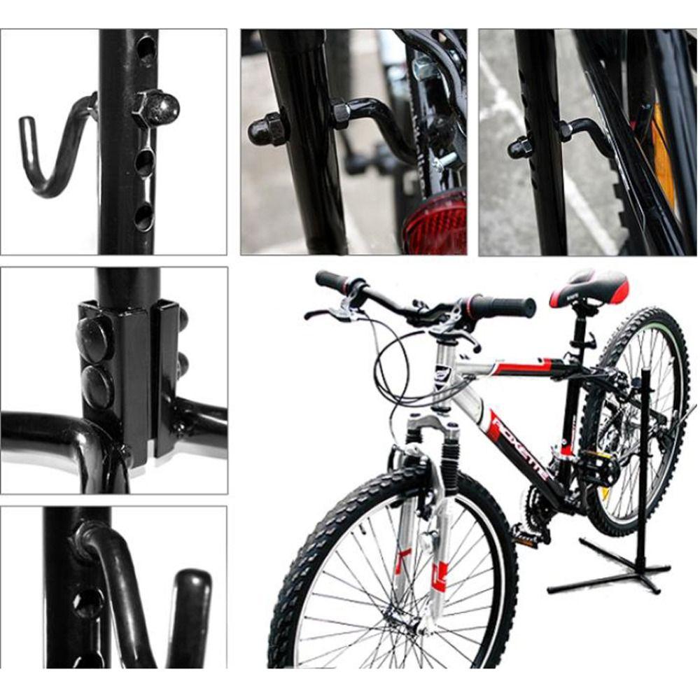 L-typ Höhe Einstellbar Fahrrad Hinten Bleiben Bracket Stehen Reparatur Halter Radfahren Racks Lagerung Bike Zubehör