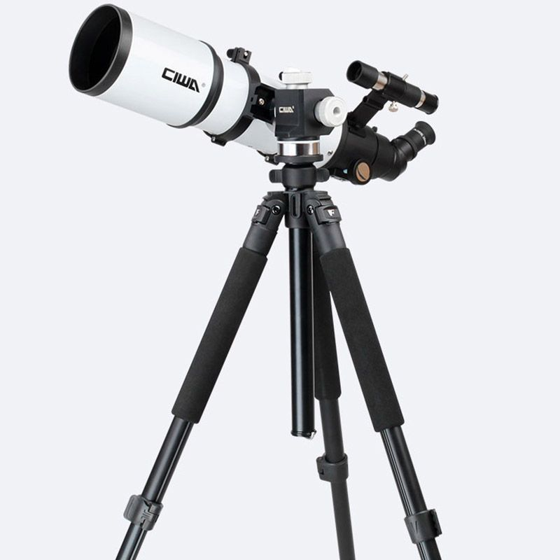 CIWA Portable Tripod Space telescopic Outdoor Monocular Astronomical Telescope Optical Refractor Design Professional Telescope