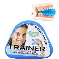 1 PC T4K Anak-anak Dental Gigi Alat Ortodonti Pelatih Anak-anak Alignment Braces Juru Bicara untuk Gigi Gigi Lurus Gigi Perawatan