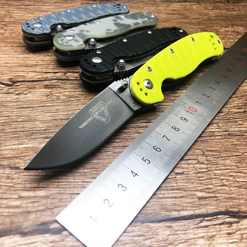BMT RAT modèle 2 tactique lame pliante couteau lame AUS-8 G10 poignée poche chasse Camping survie couteau extérieur EDC outil