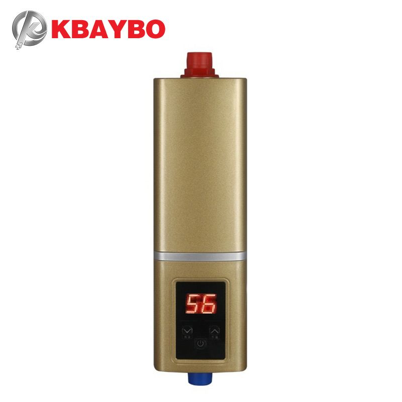 5500W Instantaneous Water Heater Tap electric Water Heater Instant <font><b>shower</b></font> thermostat Heating Maximum of 55 degrees Celsius
