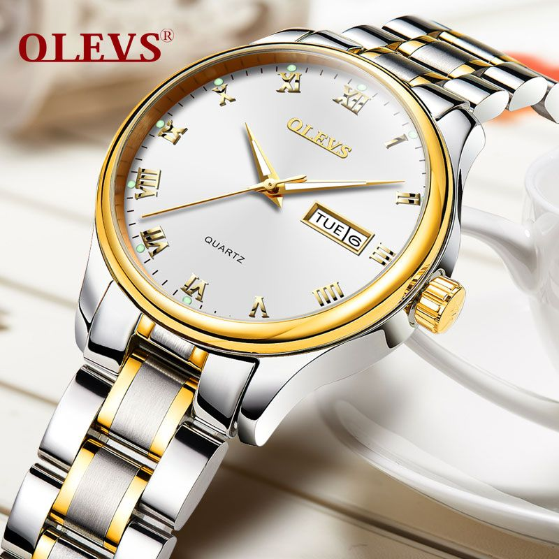 Relogio данных feminino Женские часы Роскошные Нержавеющаясталь женский часы кварцевые Водонепроницаемый наручные часы для Для женщин zegarek damski