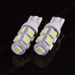 4 шт. высокое качество T10 9 SMD 5050 W5W 194 501 LED Авто оформление Подсветка салона Клин двери инструмент Сторона лампы лампы DC 12 В