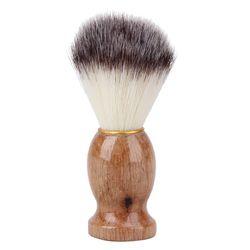 Poils de blaireau Blaireau Barber Salon de Hommes Hommes Visage Barbe Appareil de nettoyage Rasage Outil Rasoir Brosse avec Manche En Bois pour hommes