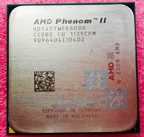 AMD Phenom X6 1045T X6-1045T 2.7GHz Six-Core CPU Processor HDT45TWFK6DGR 95W Socket AM3 938pin