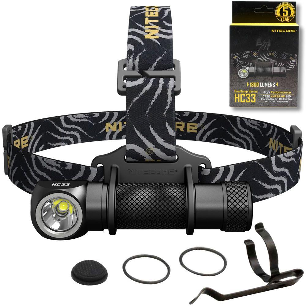 VERKAUF 2018 NITECORE HC33 Scheinwerfer 1800 Lumen CREE XHP35 HD LED Wasserdichte Taschenlampe Outdoor Camping Reise Jagd Kostenloser Versand