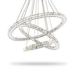 Moderne Lustre Led Lustre En Cristal Éclairage de Plafond Lustres Lumière Lamparas De Techo Hanglamp Suspension Luminaire Lampen