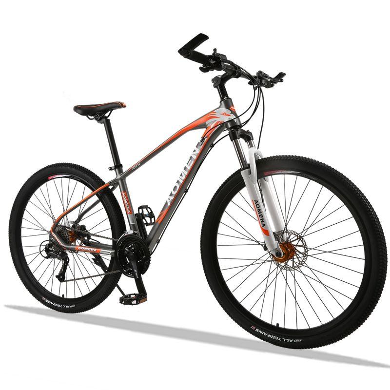 bicycle Mountain Bike 27 Speed 29 Inches fahrrad Wheels Dual Disc Brake Aluminum Frame MTB Bicycle Hydraulic brake bicycle