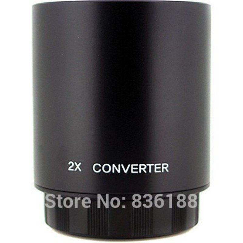Jintu 2X Teleconverter Lens for Bower & Vivitar 650-1300mm 500mm & JINTU 420-800mm Telephoto Zoom Lens