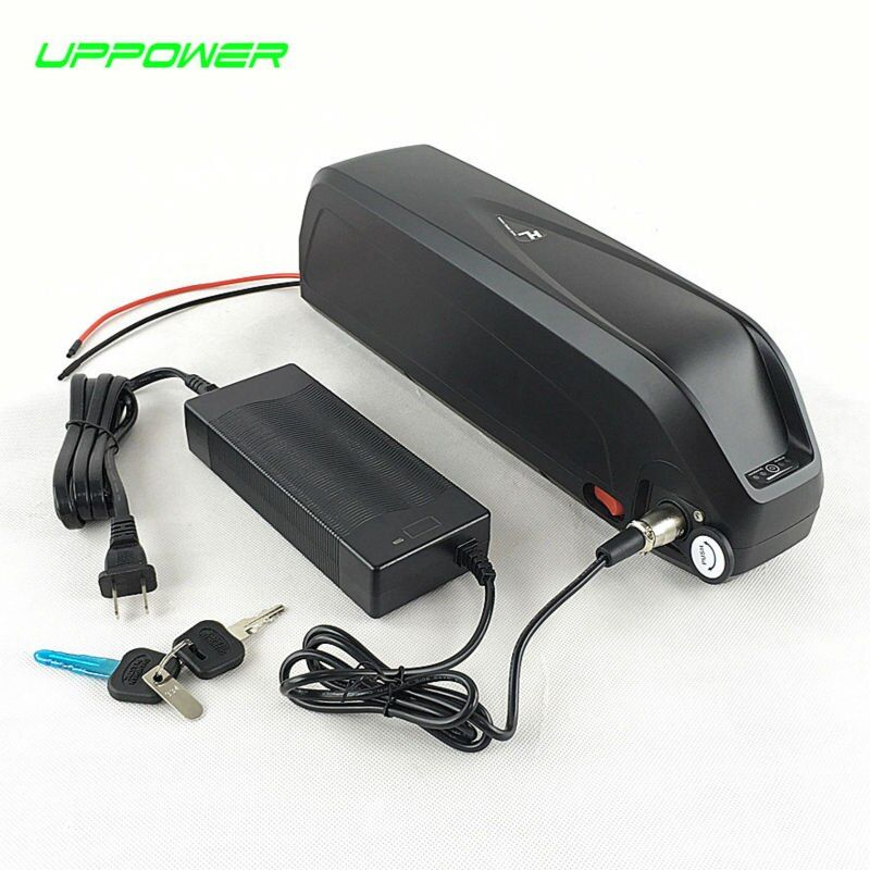 US EU AU No Tax 2016 New Hailong 48V 750W Electric Bike battery 48V 11AH frame lithium battery with USB+30A BMS 54.6V 2A charger