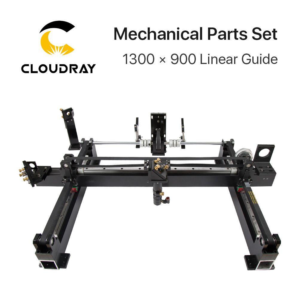 Mechanische Teile Set 1300mm * 900mm Einzigen Kopf Laser Kits Ersatzteile für DIY CO2 Laser 1390 CO2 laser Gravur Schneiden Maschine