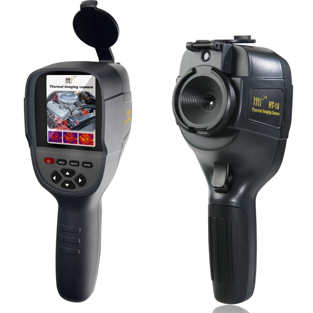 HT-18 Handheld IR Digitale Wärmebildkamera Detektor Kamera Infrarot Temperatur Wärme mit lagerung spiel Suchen/FLIR Thermische
