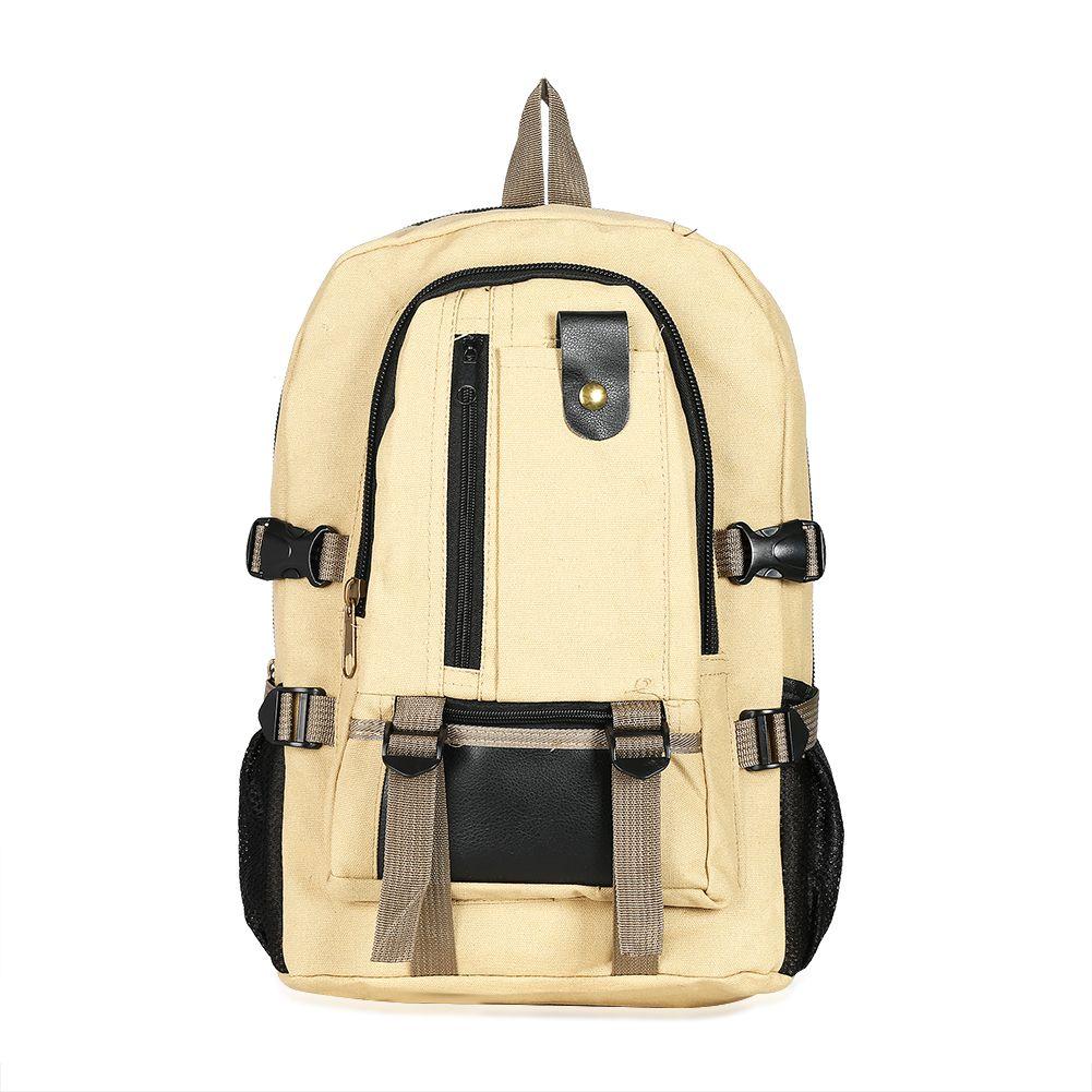 3546G Vintage Men Women Canvas Backpacks School Bags for Teenagers Fashion Men