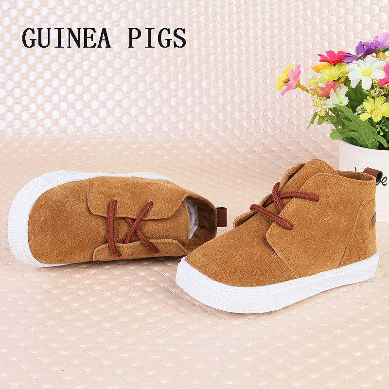 Automne nouvelle mode enfants chaussures bébé filles Super doux confortable garçons daim bambin chaussures décontractées Chaussure SKHEK marque