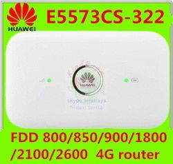 Débloqué Huawei e5573 4g dongle 4g wifi routeur E5573cs-322 150 Mbps 4g mifi Mobile Hotspot Sans Fil PK e5377 e5573 e589 e5372