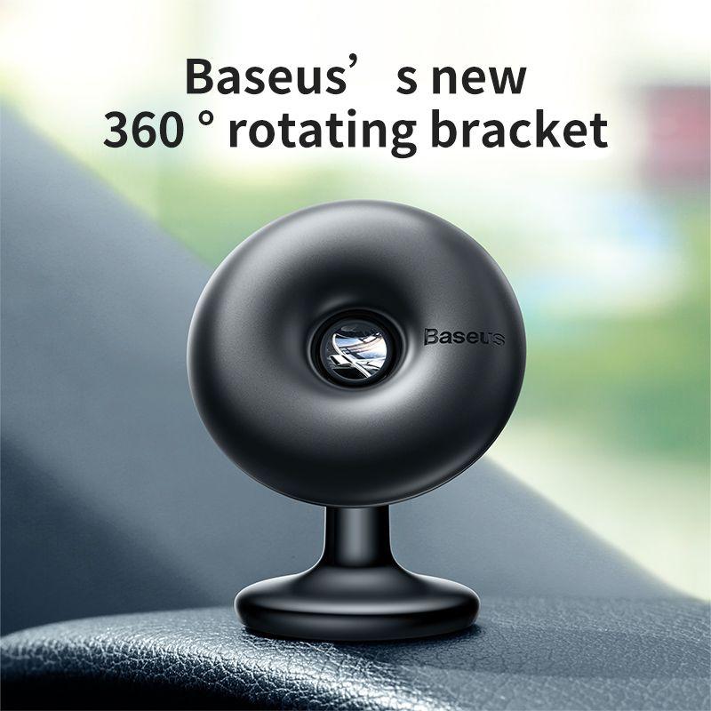 Baseus support de téléphone magnétique pour voiture support mobile de voiture support pour téléphone portable support pour téléphone portable support pour iPhone Sumang 360 degrés aimant
