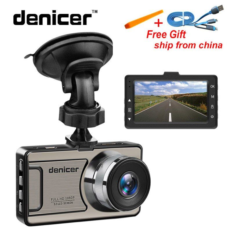 Novatek 96655 Car Dvr Camera Full HD 1080P Dash Camera <font><b>30Fps</b></font> Video Registrator Car 170 Degree Dash Cam Night Vision Recorder Car