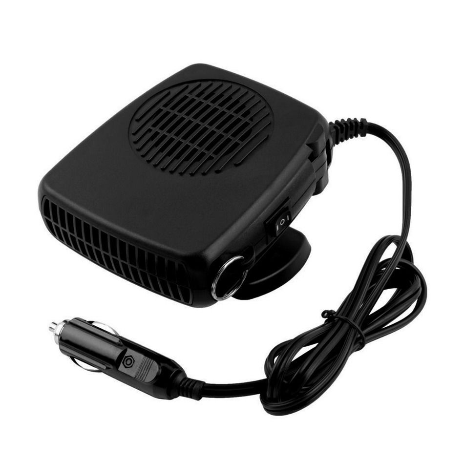 Car Heater Car Electric Heater 12V 150W Car Warm Air-Conditioned Glass Defogging Defrost
