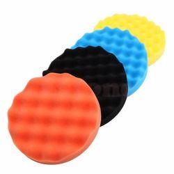 4 Pcs/set 3/4/5/6/7 Inch Buffing Sponge Polishing Pad Tangan Alat Kit untuk pemoles Mobil Lilin MY16_35