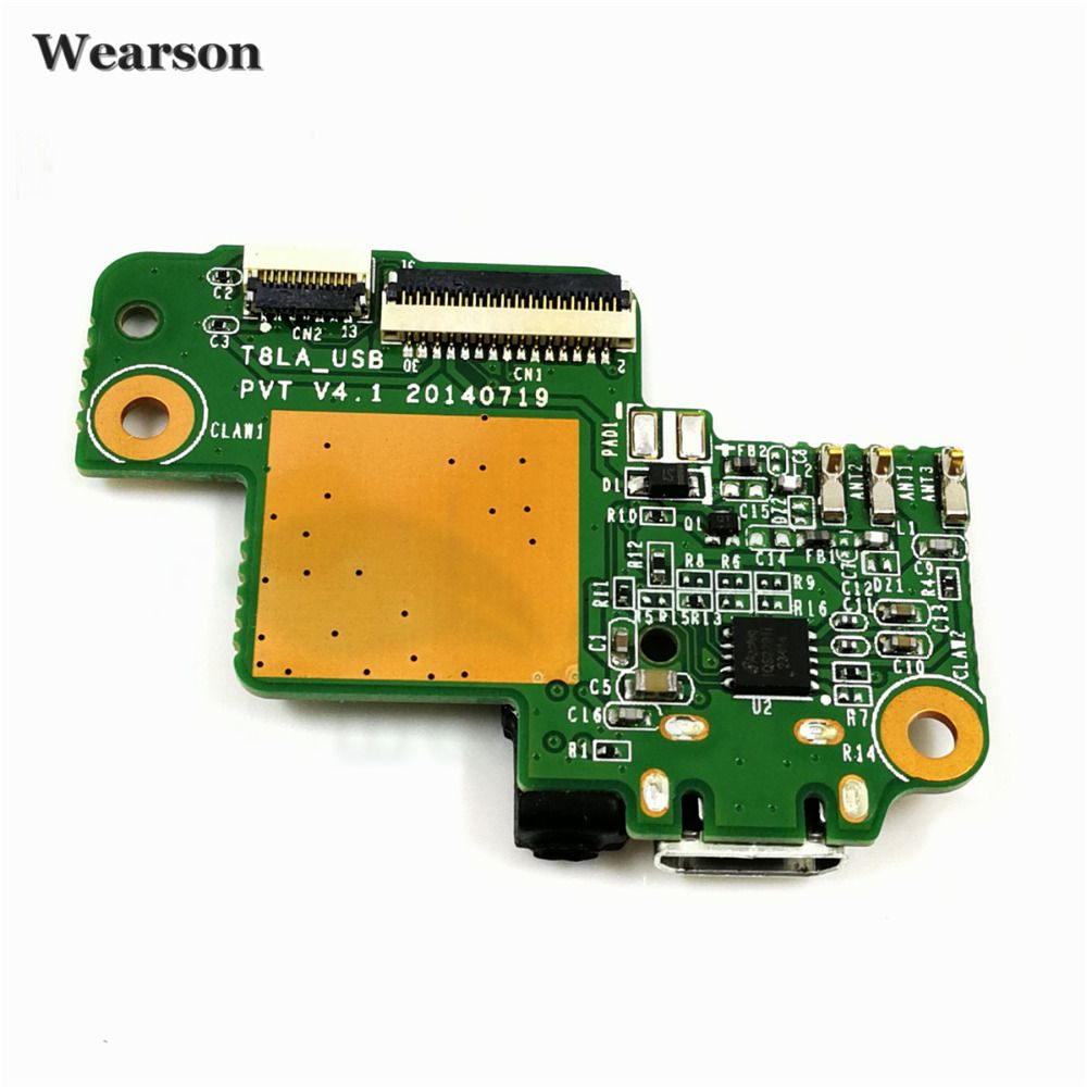 3G Type For Lenovo Pad S8-50F USB Board S8-50 USB Port Charging Board With Earphone Free Shipping With Tracking Number