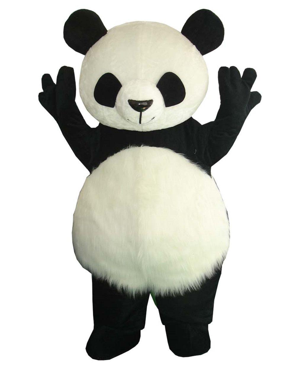 Wholesale New Version Chinese Giant Panda Mascot Costume Christmas cosplay Mascot Costume Free Shipping
